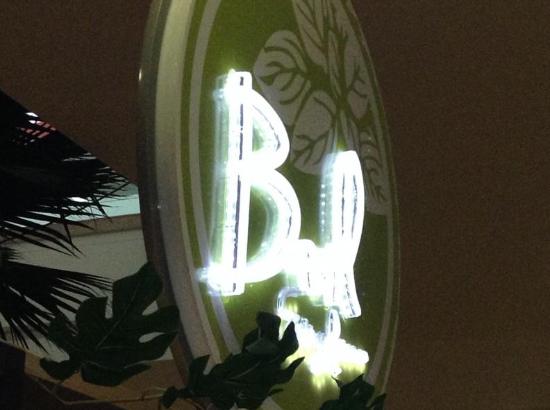 Aviso Acrilico Redondo – Iluminacion LED – Basil
