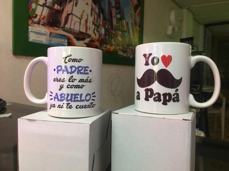 Diseño MUG – Yo Amo a Papa