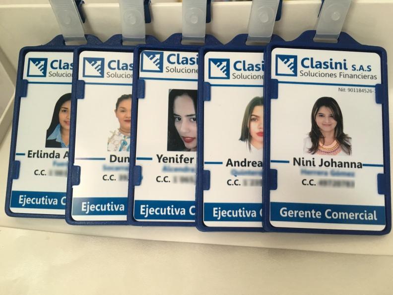 Carnet para Empresas – Diseño e Impresión – Clasini.