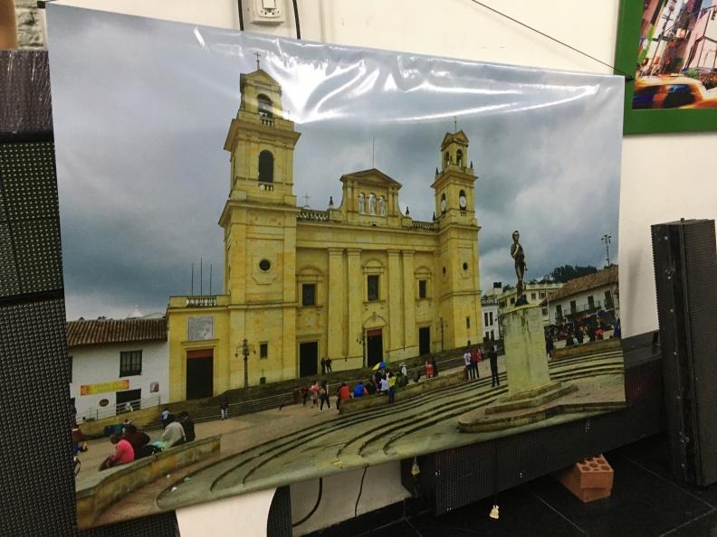Pendon – Iglesia de Chiquinquira