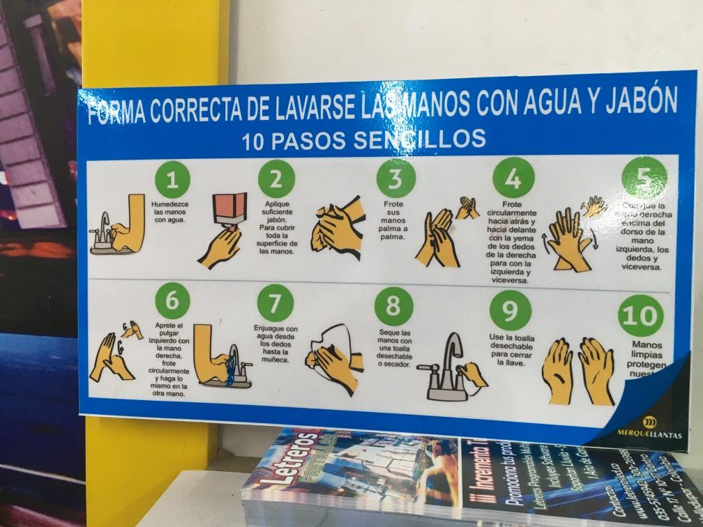 Pancarta o Cartel Informativo – MerqueLlantas.