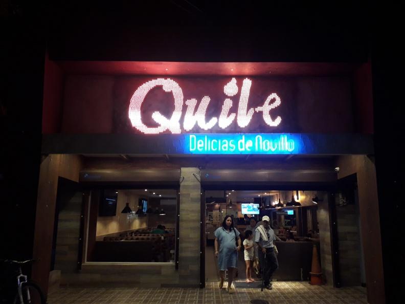 Aviso en Aluminio y LED Pixel inteligente – Quile.