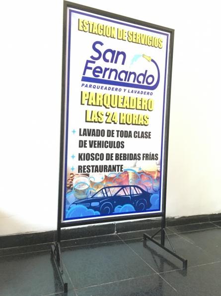 Rompetrafico en Hierro – Estacion San Fernando