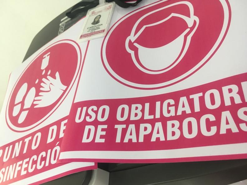 Impresión Vinilo – Uso Obligatorio Tapabocas