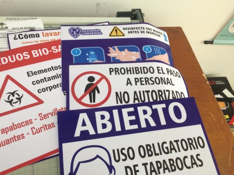 Señalizacion Uso Obligatorio Tapabocas