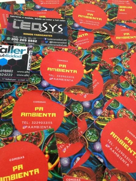 Stickers en Adhesivo Laminado