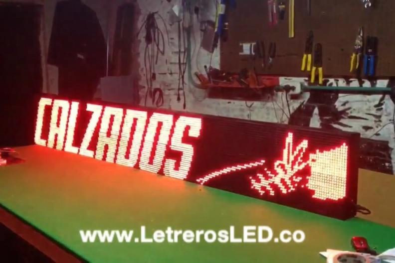 Pantalla LED 224×32. Publicidad 24 Horas. Aviso LED