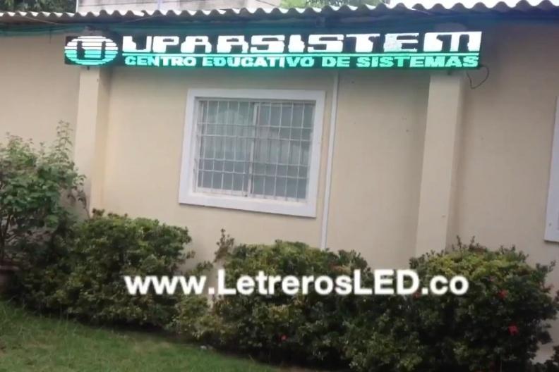 Pantalla LED 480×32. Informador LED. Publicidad 100% Efectiva