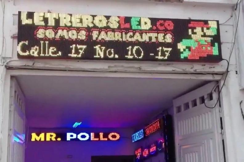 LED Displays [RG] Tri-Color, Tamaño: 224×48