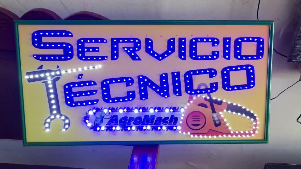 Aviso LED – Servicio Tecnico