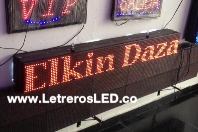 Pasamensajes Programable LED Sign. 128x16cm. Excelente Publicidad.